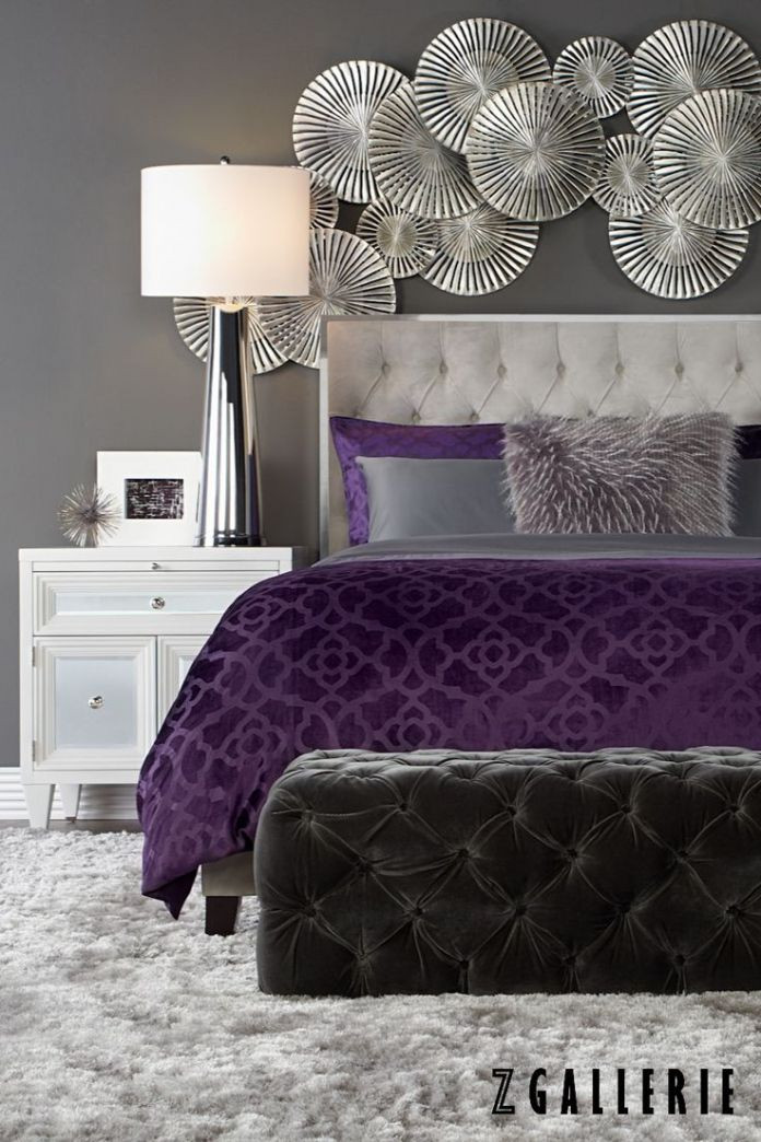 Purple and Grey Bedroom Decor 17 Purple Bedroom Ideas that Beautify Your Bedroom S Look