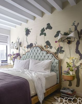 Purple and Grey Bedroom Decor 25 Purple Room Decorating Ideas How to Use Purple Walls