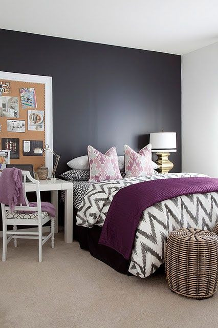Purple and Grey Bedroom Decor 26 Bedroom Decor Ideas with Purple Accents Purple and Dark