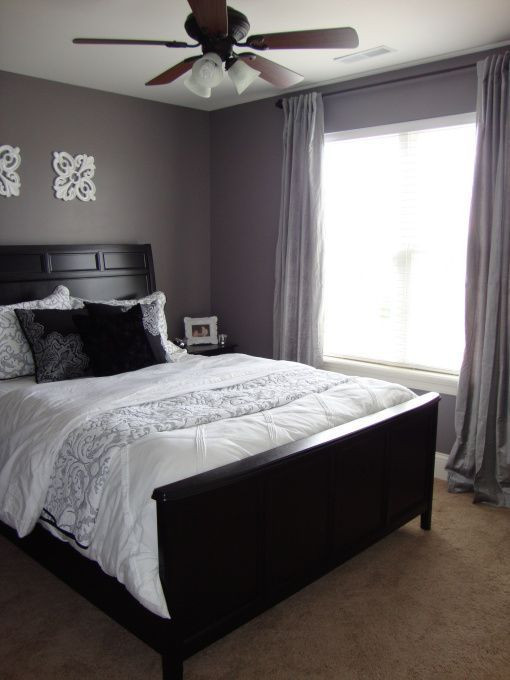 Purple and Grey Bedroom Decor Information About Rate My Space