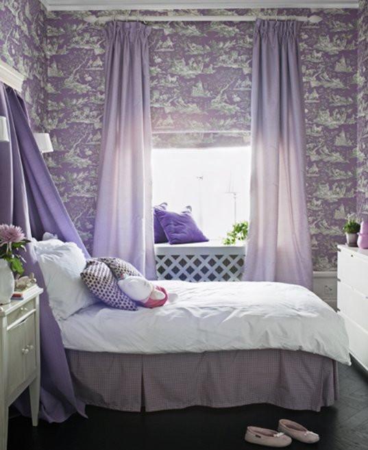 Purple and Silver Bedroom 24 Purple Bedroom Ideas