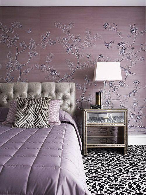 Purple and Silver Bedroom Dreamy Designer Bedrooms