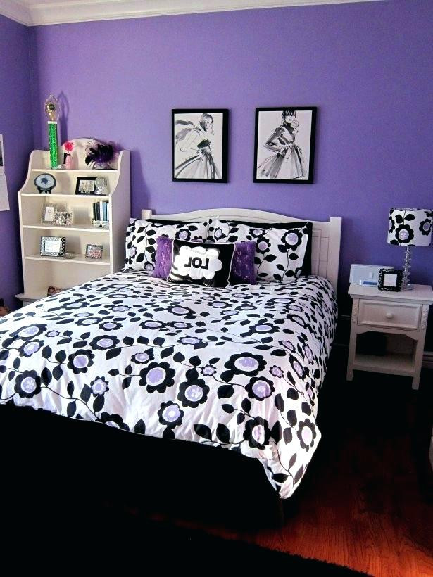 Purple and White Bedroom Purple and Black Bedroom Ideas Black and Purple Walls Purple