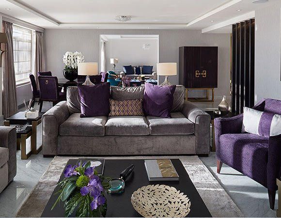 Purple Decor for Living Room Grey and Purple Living Room Ideas Zion Star
