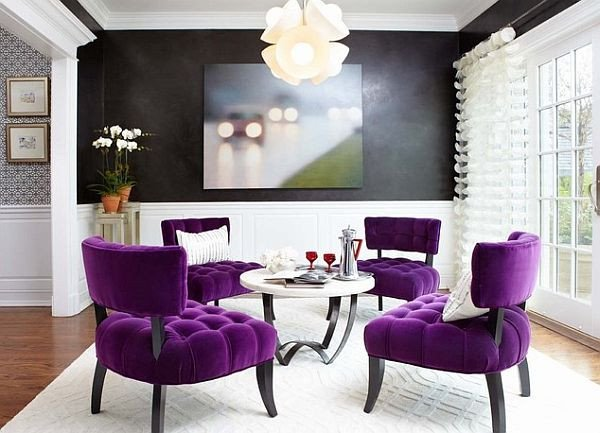 Purple Decor for Living Room How to Decorate Your Home with Color Pairs