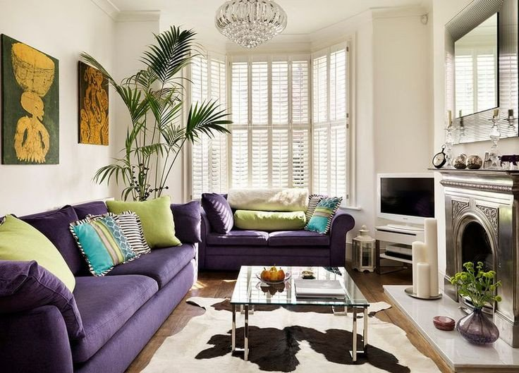 Purple Decor for Living Room How to Match A Purple sofa to Your Living Room Décor