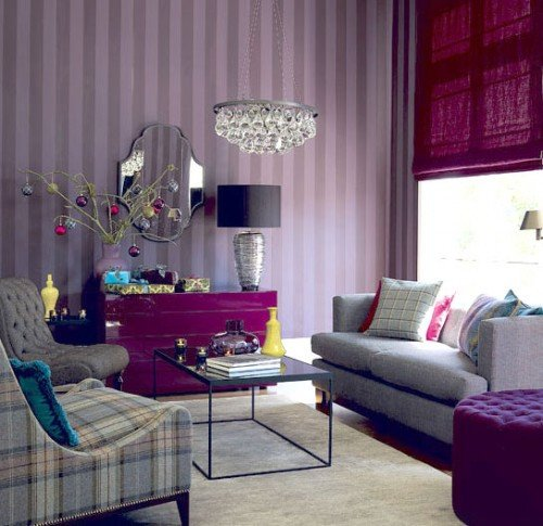 Purple Decor for Living Room Purple In Ideas for Bedroom Fice and Living