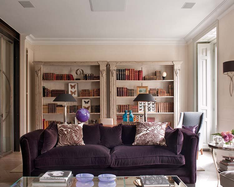 Purple Decor for Living Room Purple Living Room Decorating Ideas Interior Home Design