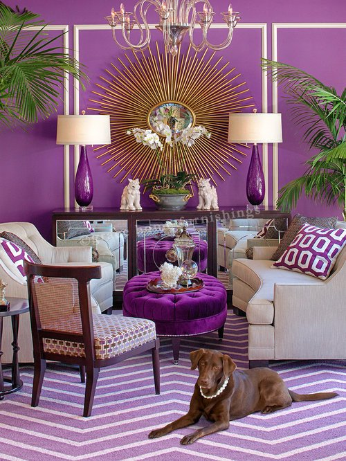 Purple Decor for Living Room Purple Living Room Home Design Ideas Remodel
