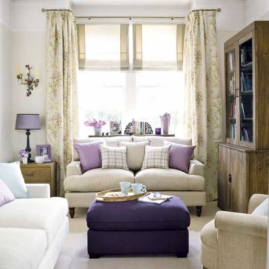 Purple Decor for Living Room Purple Living Room