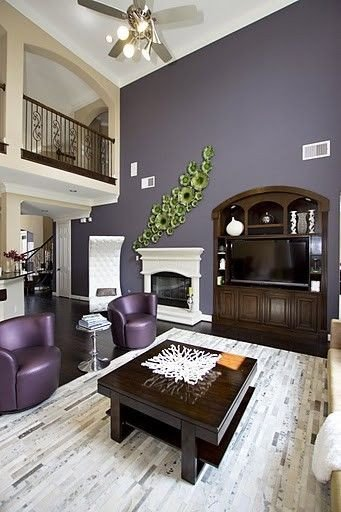 Purple Wall Decor Living Room 1000 Images About Purple Living Room Ideas On Pinterest