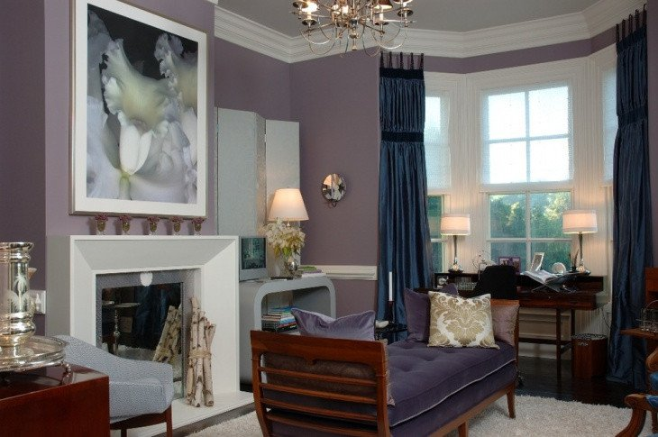 Purple Wall Decor Living Room 15 Living Room Wall Color Designs Decor Ideas