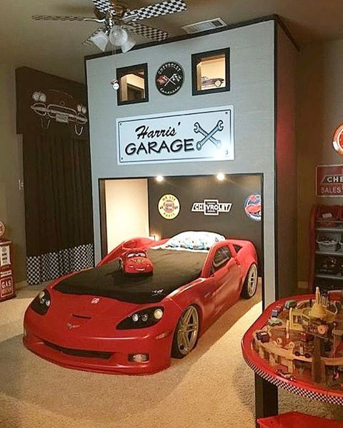 Race Car Bedroom Decor 3 132 Likes 107 Ments Decor for Kids
