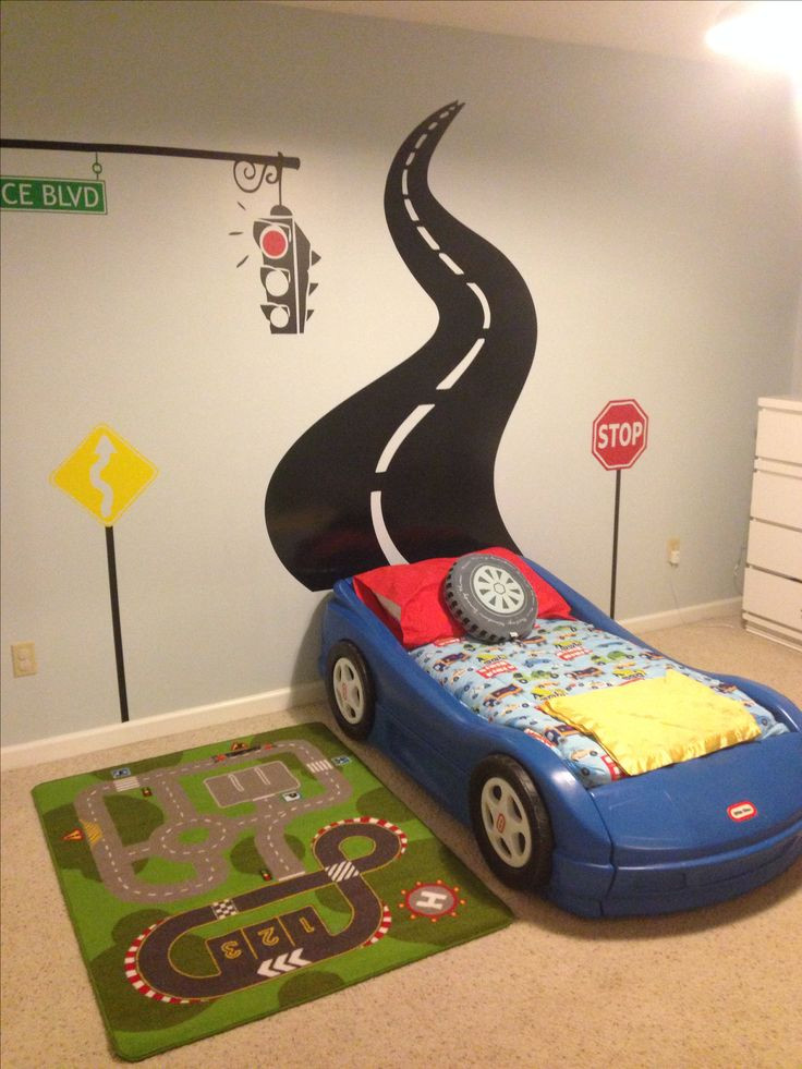 Race Car Bedroom Decor Awesome Boy Cars Bedroom Decorations – Incredible Furniture