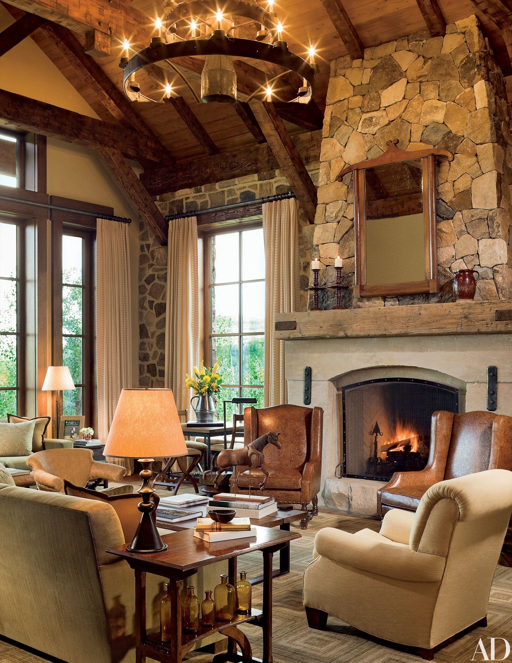 Ranch House Living Room Decorating Ideas Ranch Homes that Evoke Classic Country Style