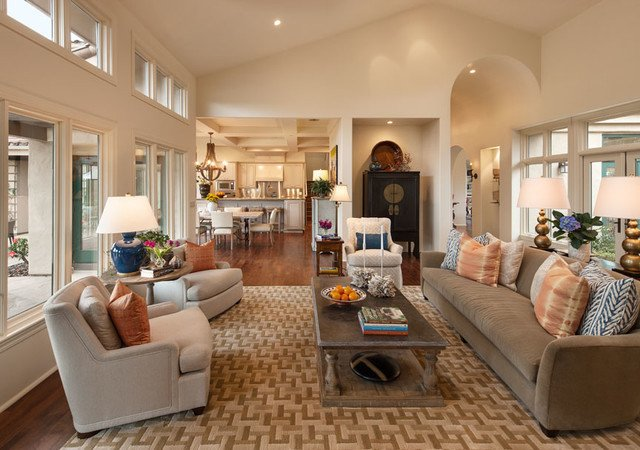 Ranch Style Living Room Ideas California Contemporary Ranch Contemporary Living Room
