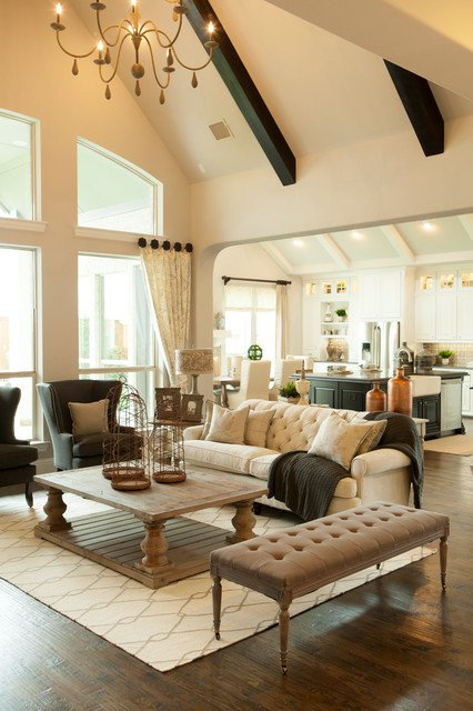 Ranch Style Living Room Ideas Phillips Creek Ranch