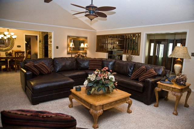 Ranch Style Living Room Ideas Ranch Style Home Traditional Living Room Houston