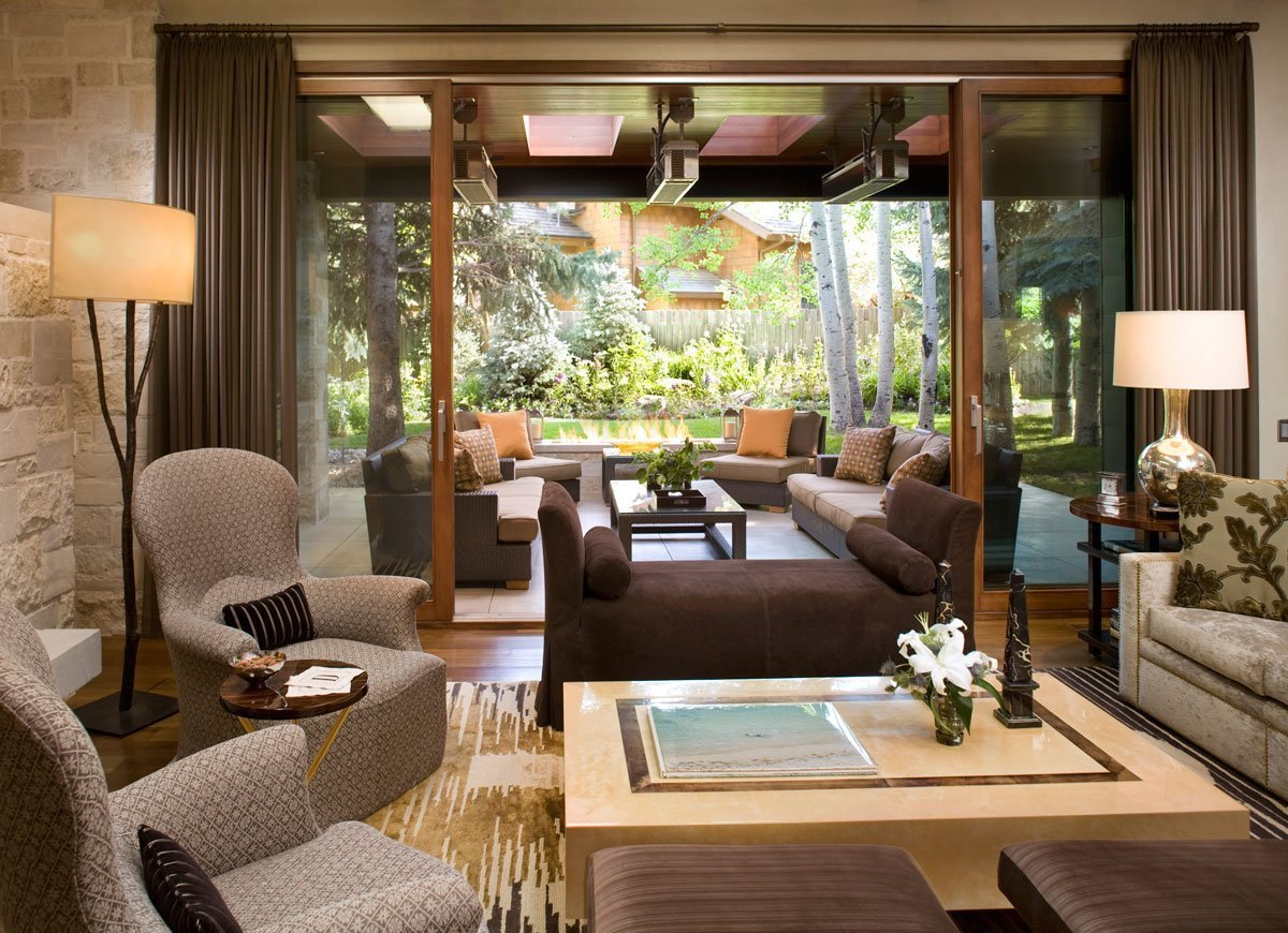 Ranch Style Living Room Ideas Ranch Style Living Room 14 Indoor Outdoor Rooms We Love