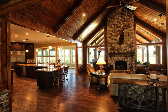 Ranch Style Living Room Ideas Texas Ranch Traditional Living Room Houston by