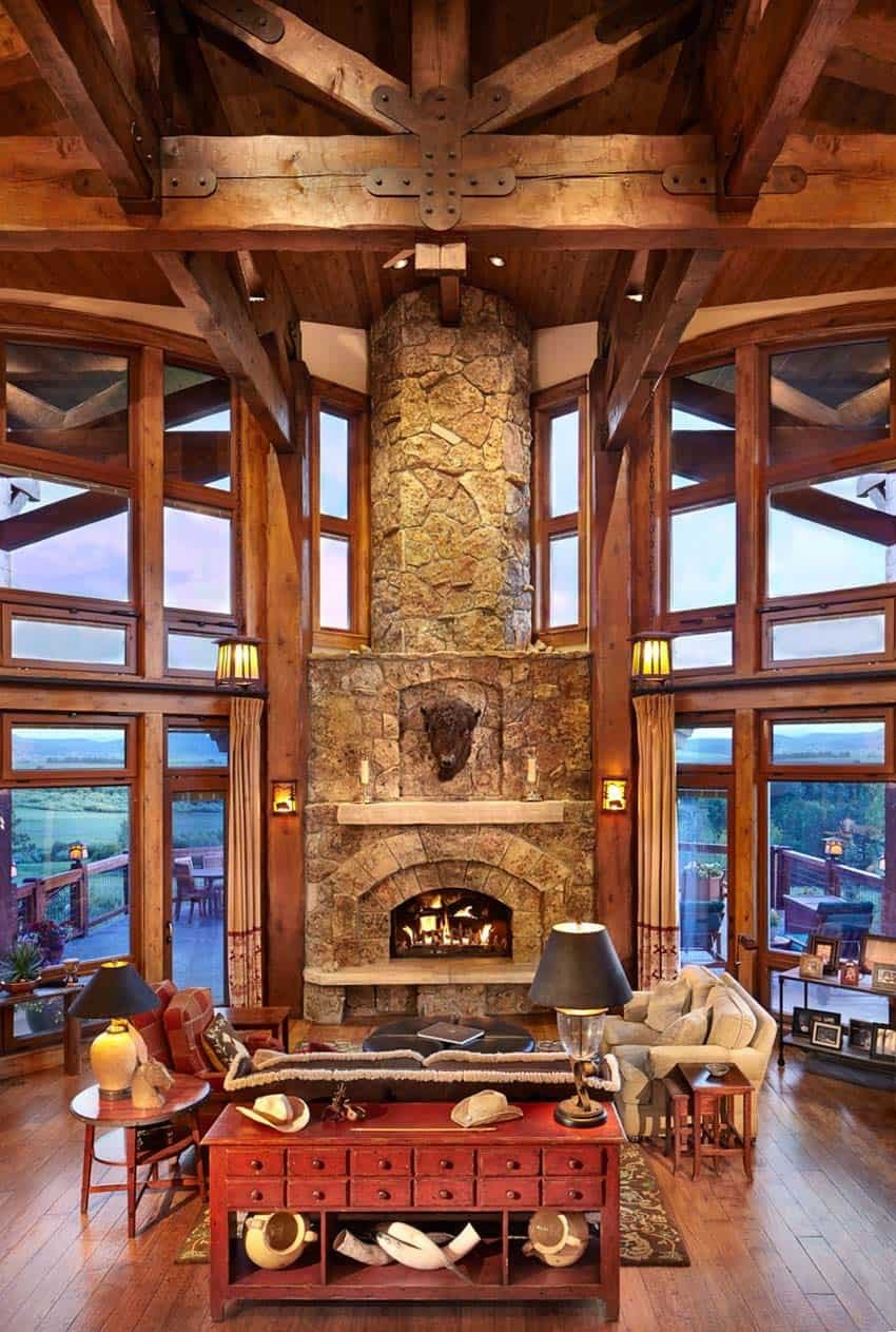 Ranch Style Living Room Ideas Warm and Inviting Ranch Style Home Surrounded by Beauty In