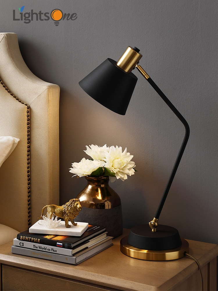 Reading Lamps for Bedroom Us $72 0 Off nordic Bedroom Bedside Table Light Creative Warm and Simple Post Modern Desk Light Study Reading Table Lamp In Led Table Lamps From