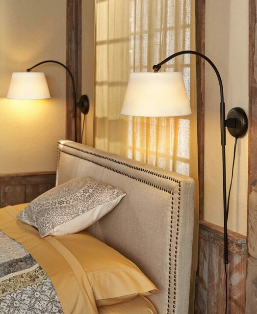 Reading Lamps for Bedroom Wall Lamp Adjustable Height touch Light Vintage Reading Lighting Bedroom Fice