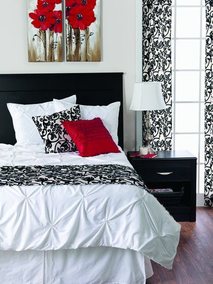 Red and Black Bedroom Decor More Red Black and White More Of the Great Things I Sell