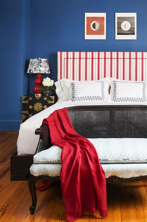Red and Blue Bedroom Best Blue Bedrooms Blue Room Ideas
