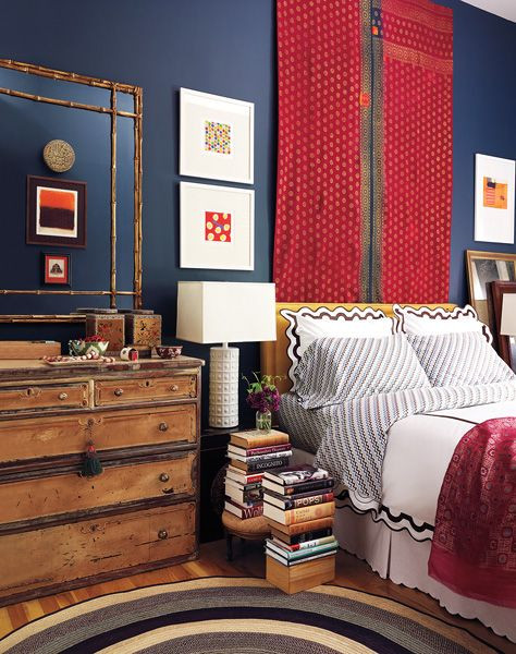 Red and Blue Bedroom Portfolio