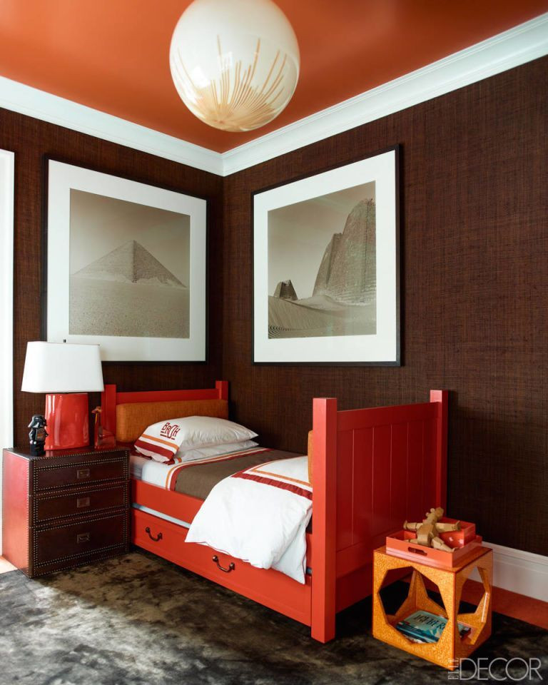 Red and Brown Bedroom 22 Gorgeous Dark Bedrooms Bedrooms with Dark Color Palettes