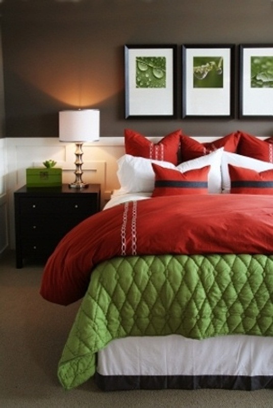 Red and Brown Bedroom 47 Cozy and Inspiring Bedroom Decorating Ideas In Fall