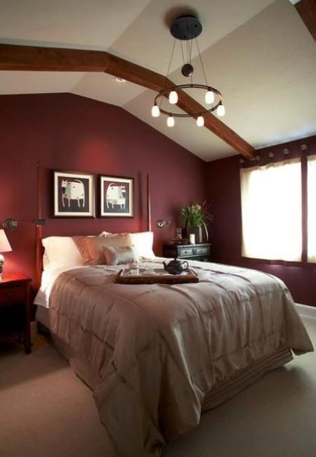 Red and Brown Bedroom Marsala Wine Bedroom Colors Modern Bedroom Decorating with