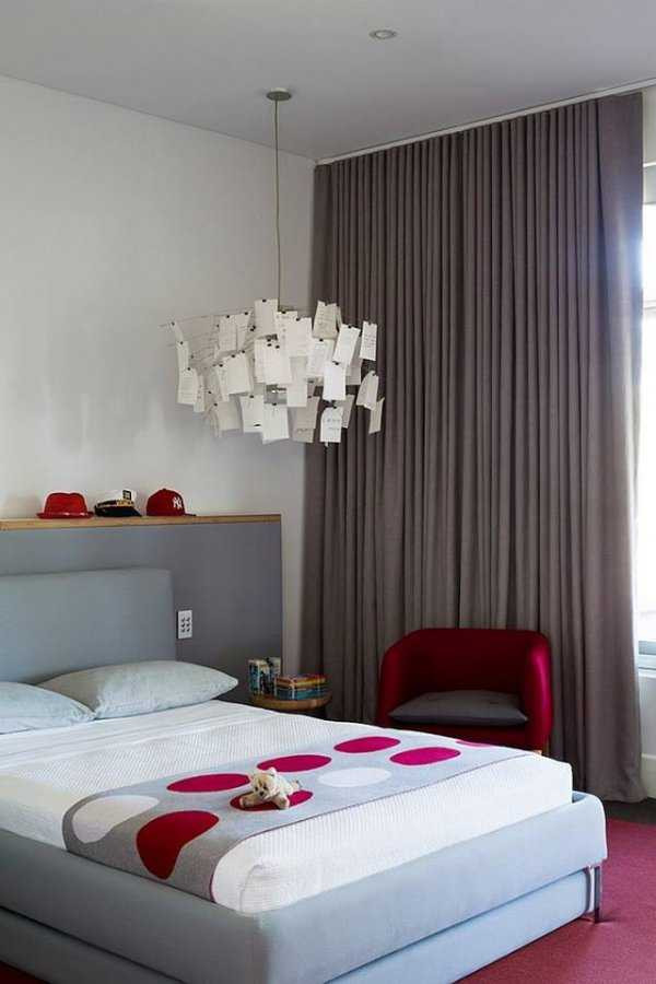 Red and Gray Bedroom Ideas 17 Divine Binations Red & Grey In the Bedroom