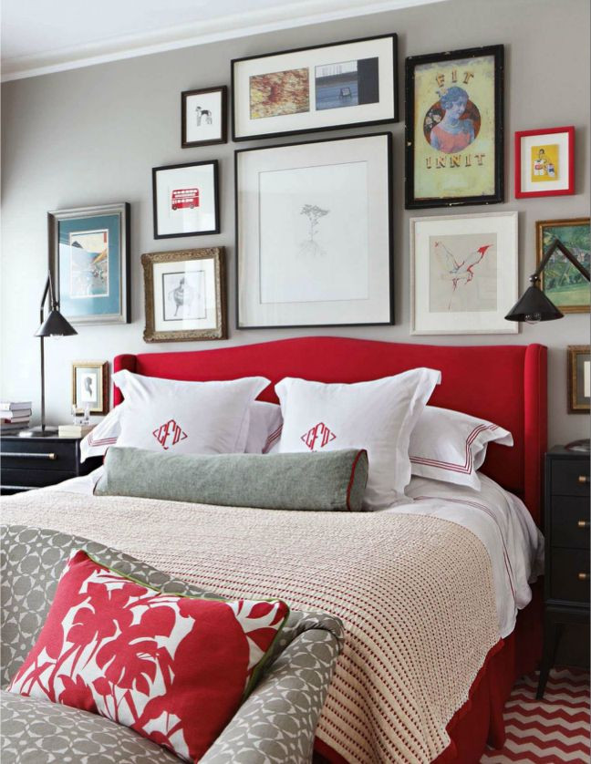 Red and Gray Bedroom Ideas Master Bedroom Decor Red Grey