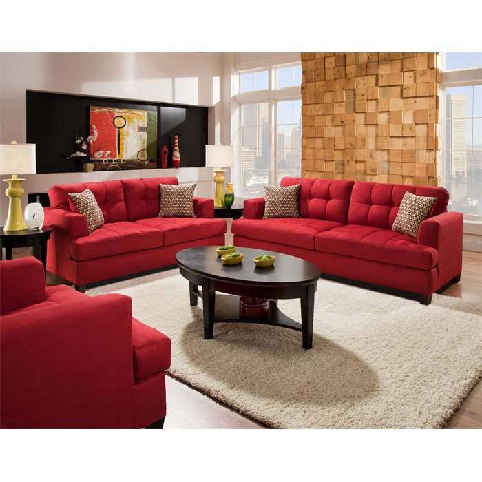 Red Couch Living Room Decor Couch Arrangement Love the Red Couch