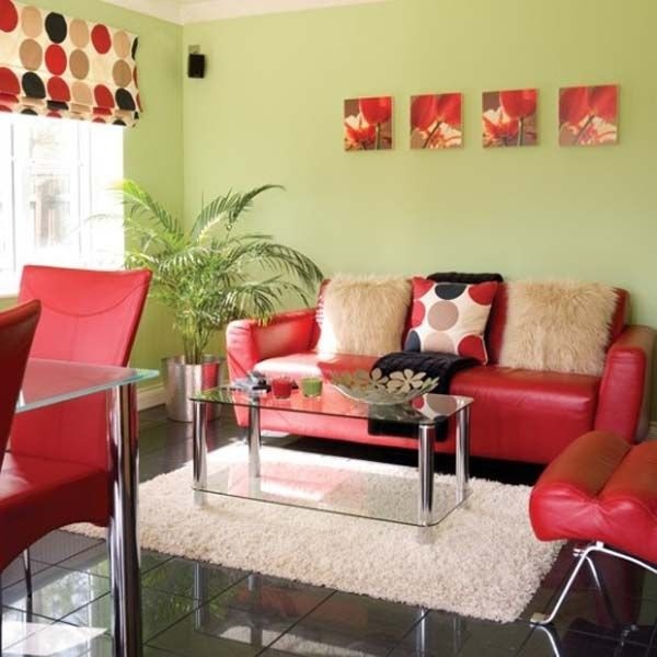 Red Couch Living Room Decor Green Living Room Decor with Red sofa Home