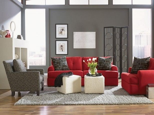 Red Couch Living Room Decor Red Alert How to Decorate with White and Red
