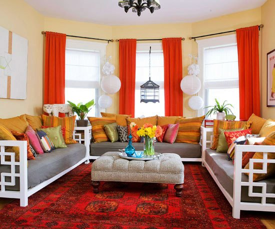 Red Decor for Living Room 15 Red Living Room Design Ideas