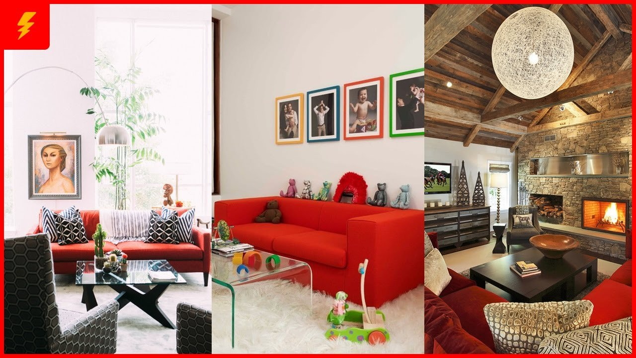 Red Decor for Living Room 18 Stunning Red sofa Living Room Design and Decor Ideas