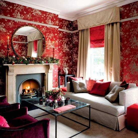 Red Decor for Living Room 51 Red Living Room Ideas