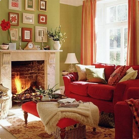 Red Decor for Living Room Cozy Thanksgiving Decorating Ideas Living Room Makeover