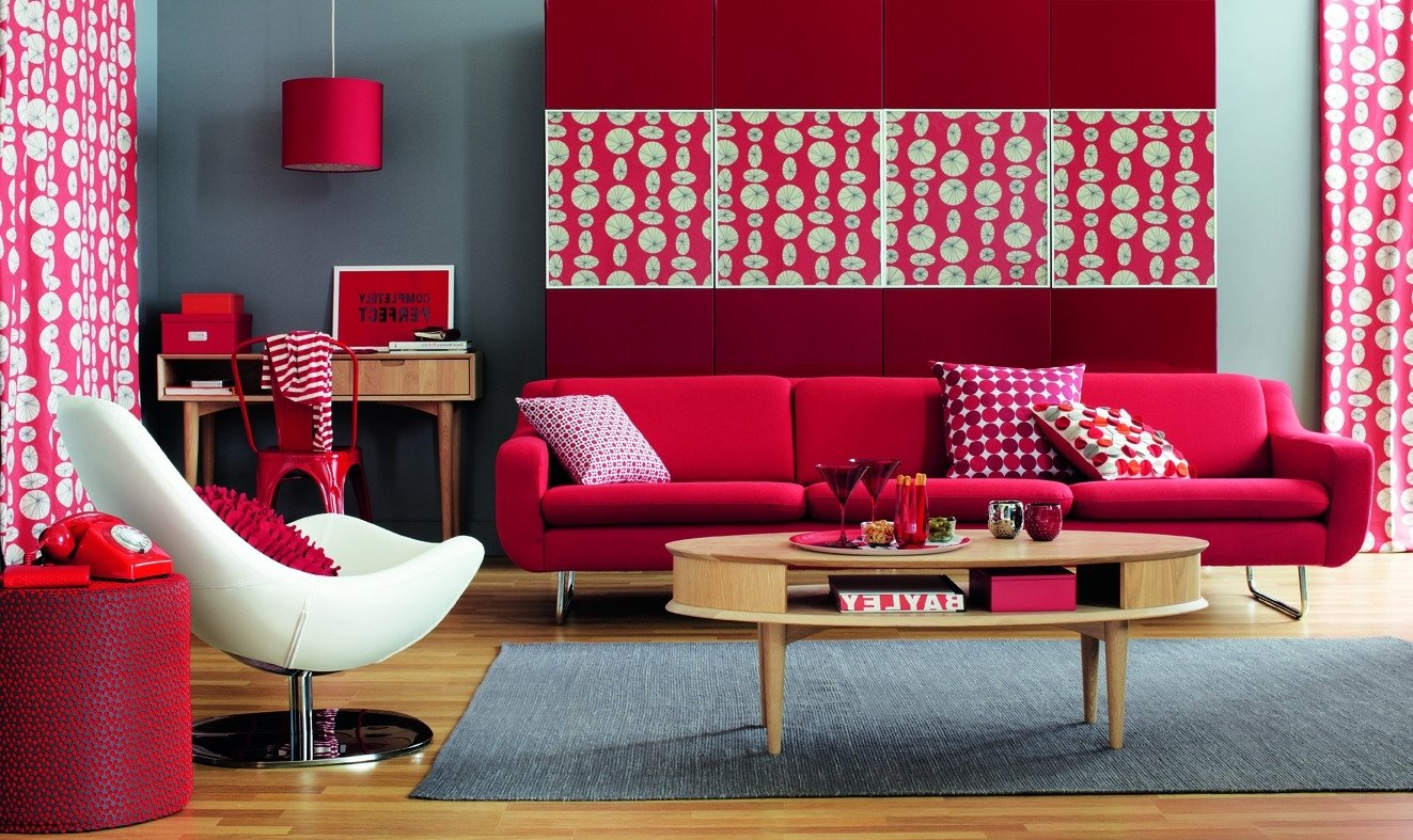 Red Decor for Living Room Red Living Room Ideas to Decorate Modern Living Room Sets