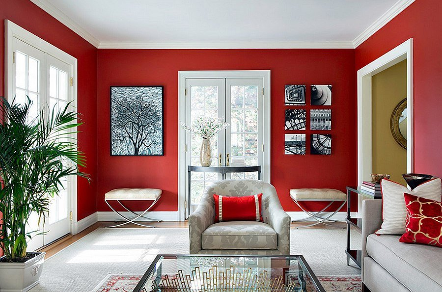 Red Decor for Living Room Red Living Rooms Design Ideas Decorations S