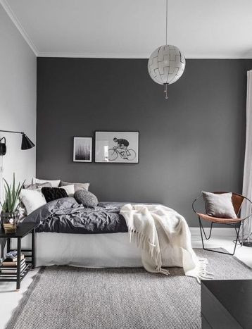 Red Grey and Black Bedroom Black and Grey Bedroom – House N Decor