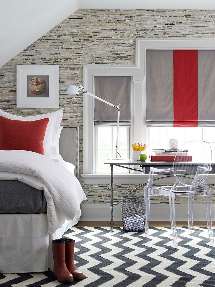 Red Grey and Black Bedroom Polished Passion 19 Dashing Bedrooms In Red and Gray