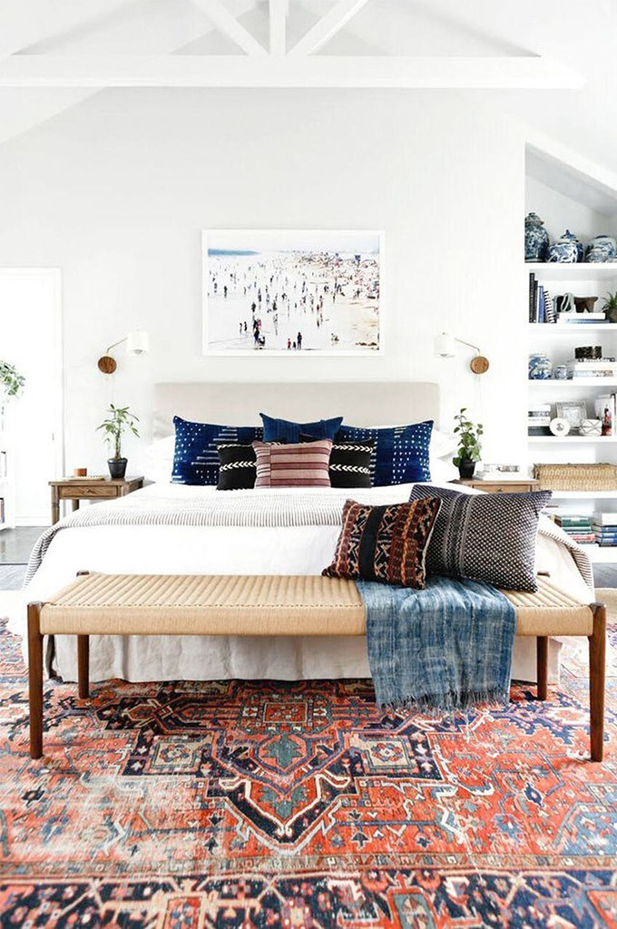 Red Rugs for Bedroom Boho Home Decor 11 Tips that Show You How to Pull It F