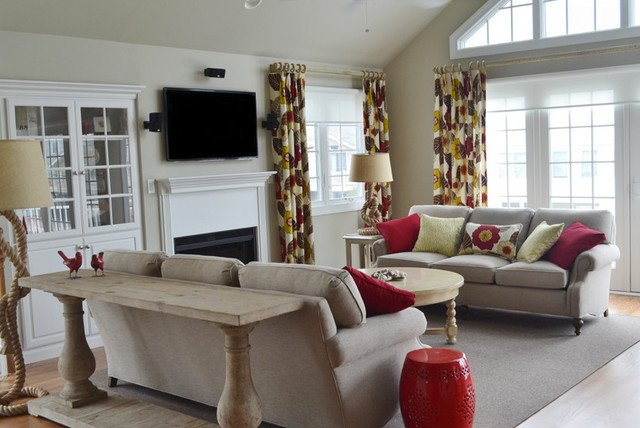 Relaxed Living Room Decorating Ideas Relaxed Living Room Avalon Nj Beach Style Family