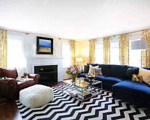 Royal Blue Living Room Decor Decorating A Blue Couch Home Design Ideas
