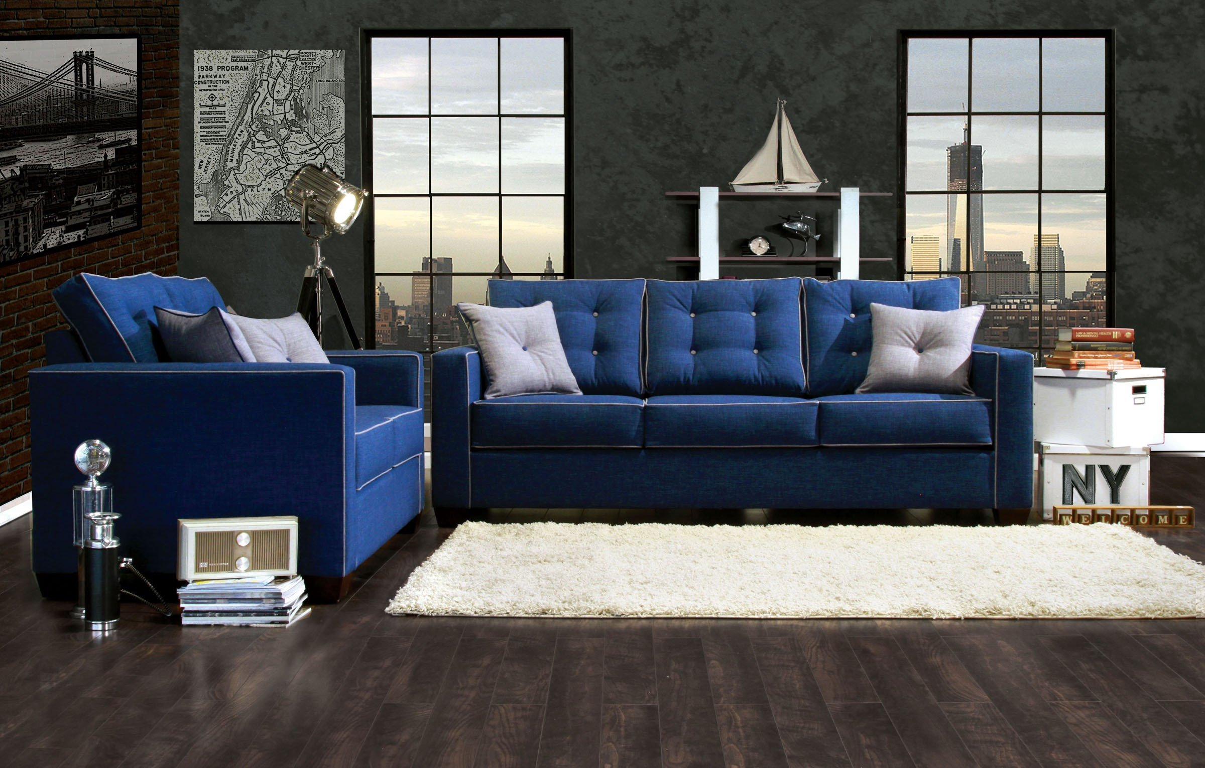 Royal Blue Living Room Decor Living Room Blue Chairs Royal Furniture and Gold Pieces
